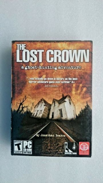 The Lost Crown: A Ghost-hunting Adventure (PC: Windows, 2008) Boxed Edition